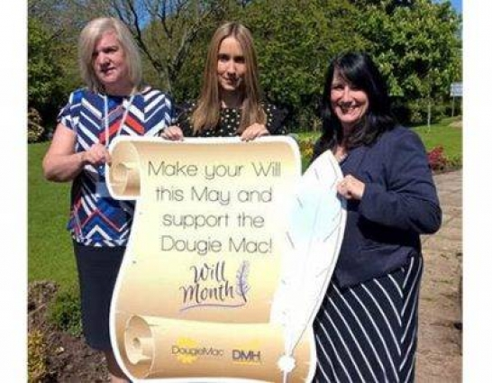 Beswicks Legal joins forces with the Dougie Mac for Make a Will Month