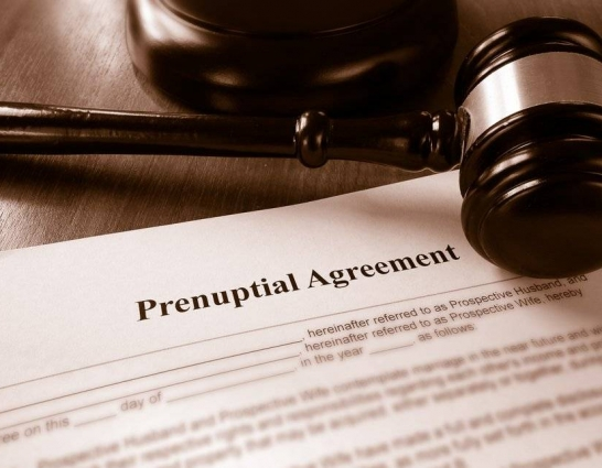 Pre-nuptial agreements: Not just for Hollywood stars