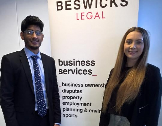 New Trainees at Beswicks Legal