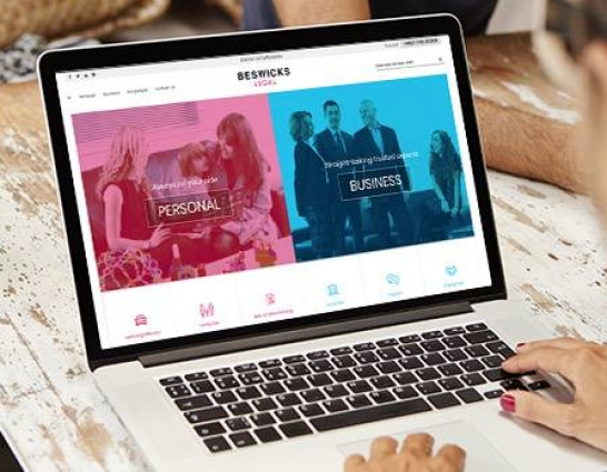 Beswicks Legal teams up with Netbiz to transform online access to legal services