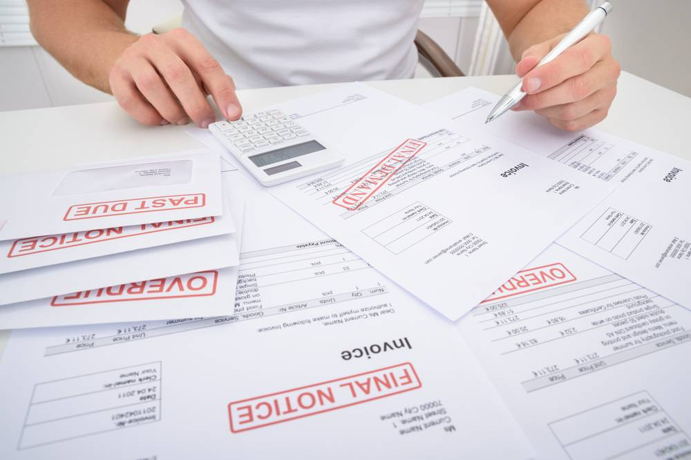 Can I claim interest on outstanding invoices?