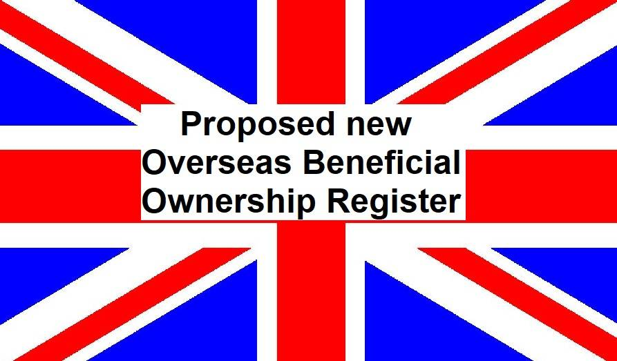 Government launches consultation on proposed register of overseas owners of land in the UK