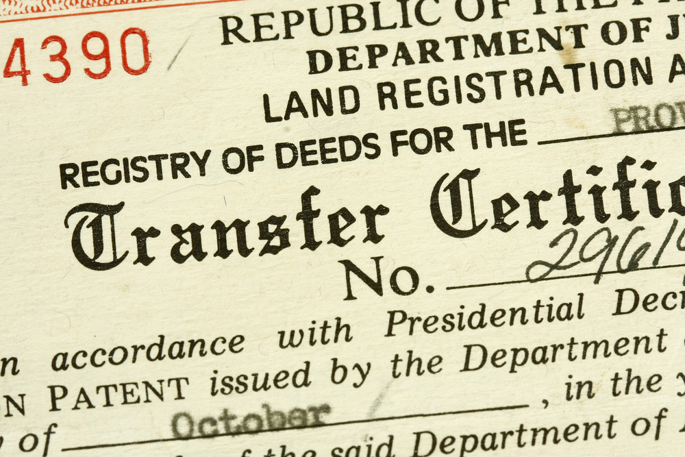 Why register property with the Land Registry?